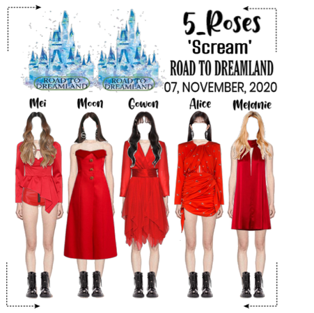5ROSES 'ROAD TO DREAMLAND' Ep 4   Performance