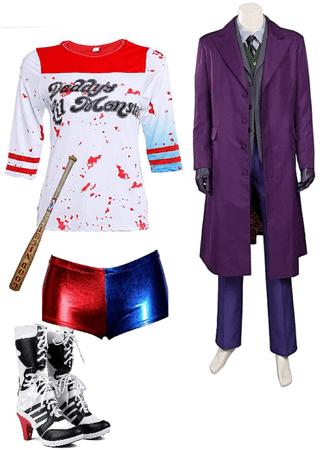 joker and Harley Quinn costume