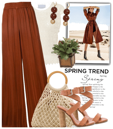 Spring trend: earthy colors and crochet