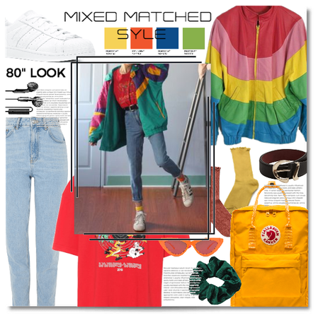 """Mixed and matched style"""