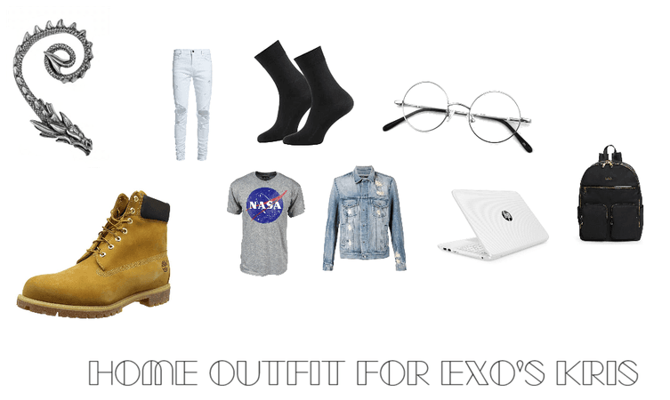 Home Outfit for Exo's Kris