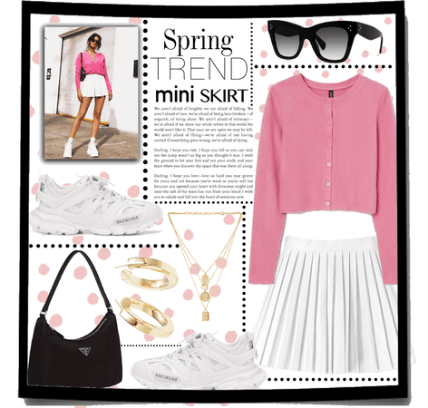 spring trend : the mini skirt