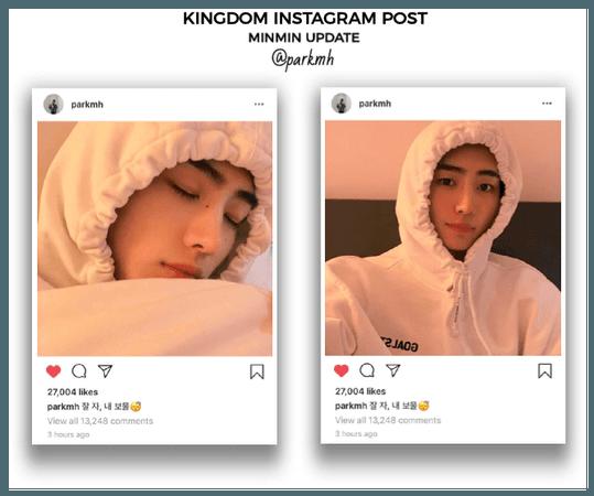 {KGDM}[MinMin] Official Instagram Post