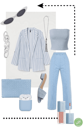 light blue everything