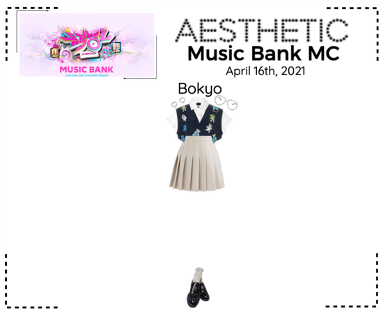 AESTHETIC (미적) [MUSIC BANK] Bokyo MC