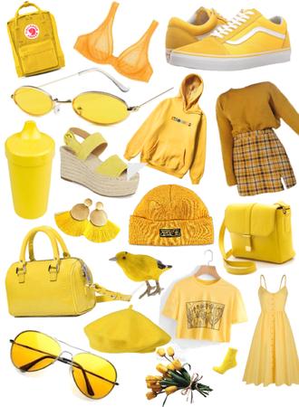 Yellow Moodboard
