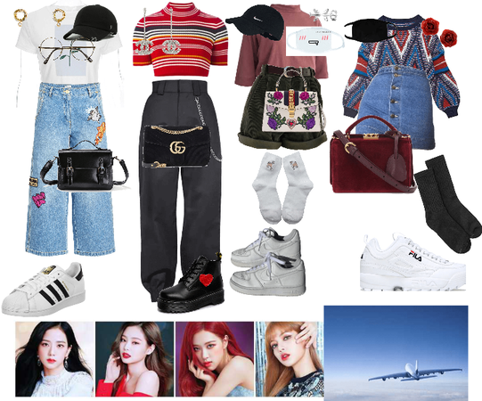 BLACKPINK  airport outfits