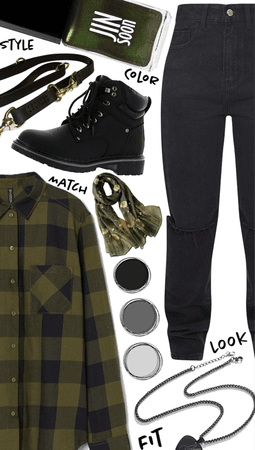 Green and Black Style✨✨