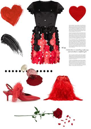 red flower 🌹