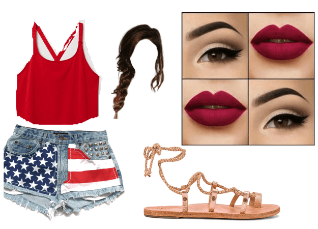 4th of July Summer Look