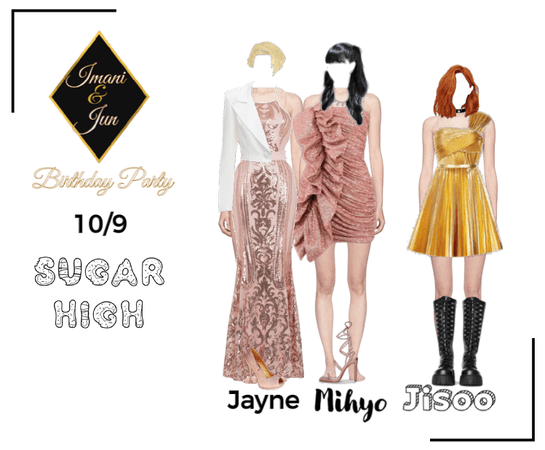 Sugar High | Imani & Jun Birthday Party 10/9