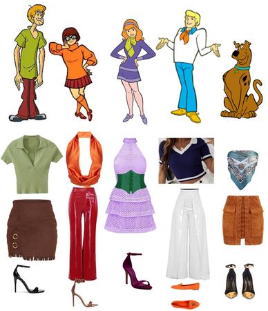 Scooby doo inspired