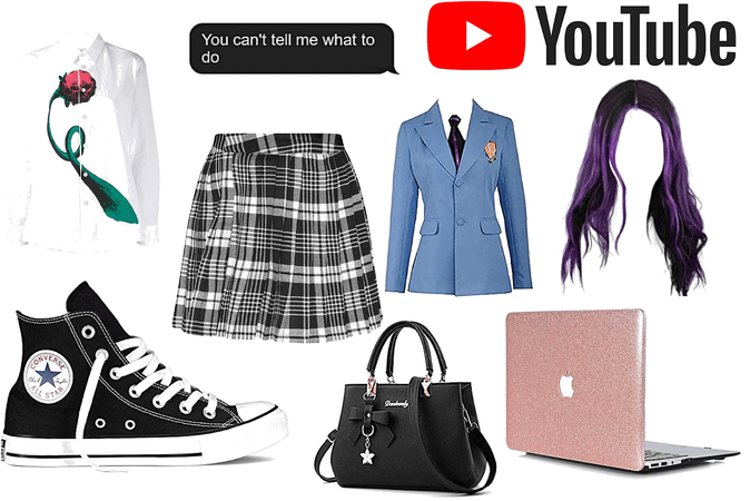 Ariel/Ace High School outfit