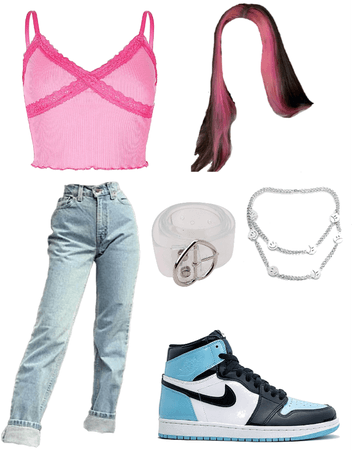 e-girl/ soft girl/ indie girl outfit