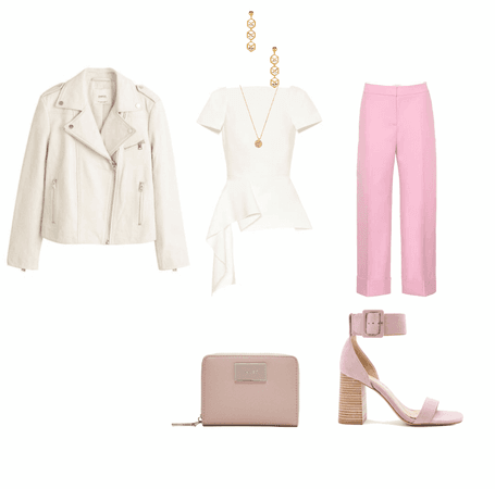 bold pink pant business attire