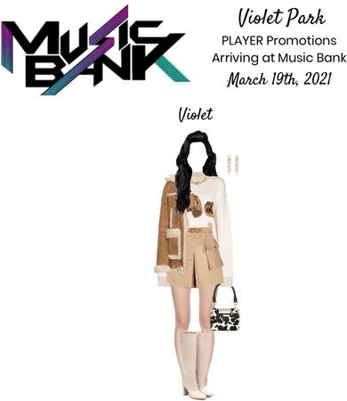 Violet Park | PLAYER Arriving at Music Bank