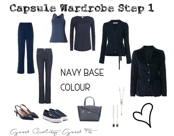 capsule wardrobe Base