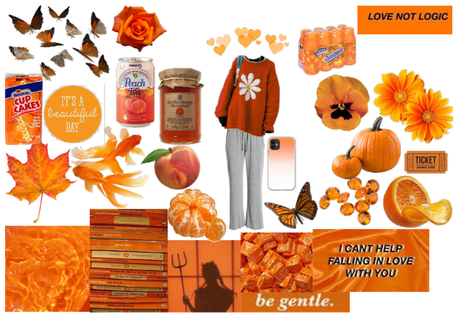Orange Aesthetic