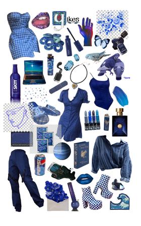 dark/royal blue fillers/png compilation