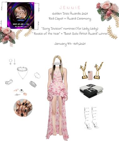 """Lee Jennie at """"Golden Disk Awards 2021"""" 01/09/2021"""