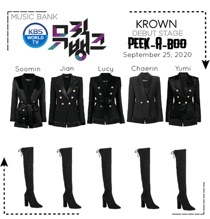 KROWN - Peek-A-Boo [Music Bank / 2020.09.25]