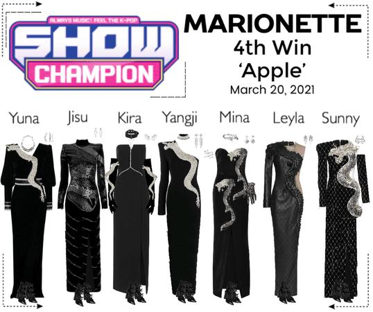 마리오네트 (MARIONETTE) - [SHOW CHAMPION] 'Apple' | 4th Win