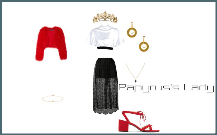 Papyrus's Lady