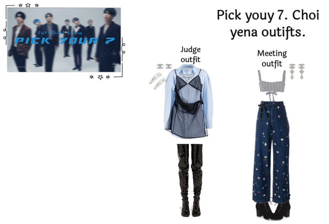 Pick your 7! Choi Yena judge out  fits