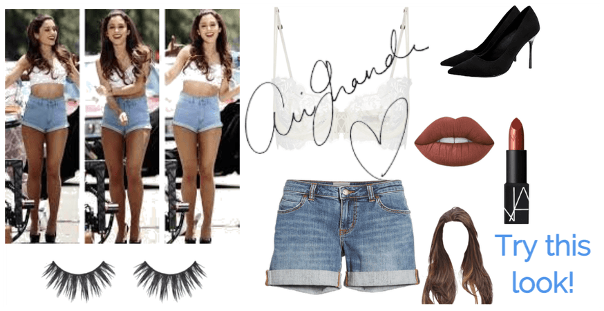 Try this Ariana Grande look