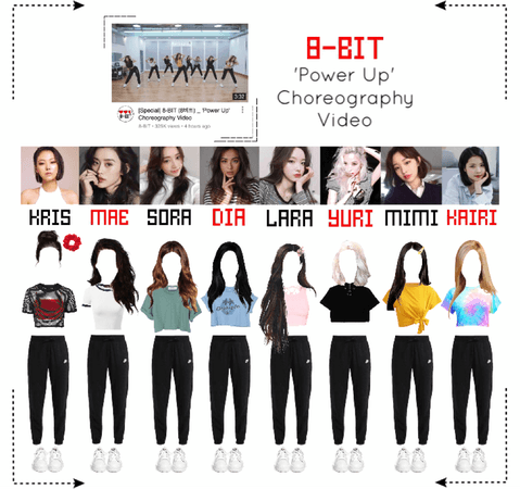 ⟪8-BIT⟫ 'Power Up' Choreography Video Outfit Set