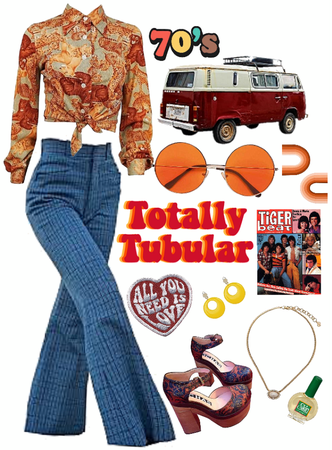 70's themed fit