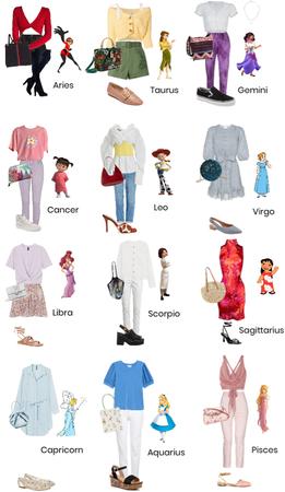 The Signs as Non-Princess Disney Women