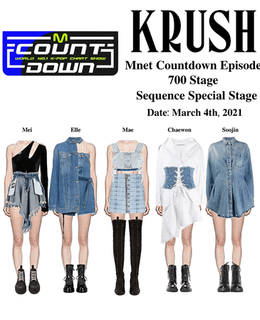 KRUSH Mnet Countdown Special Stage Sequence