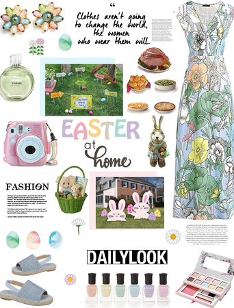 EASTER AT HOME LOOK