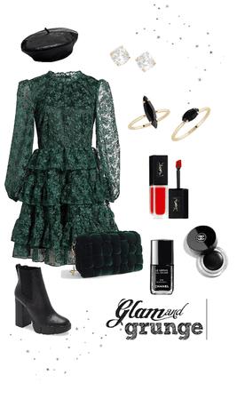 christmas - glam and grunge