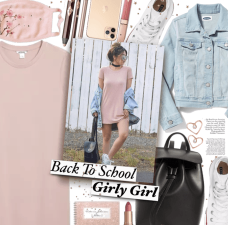 Back to school girly girl