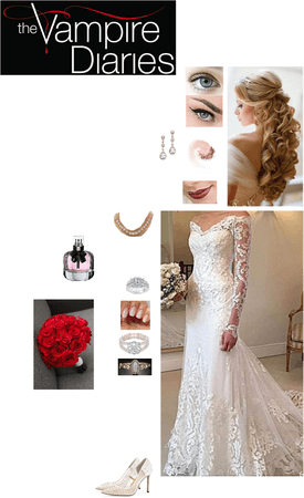 """The Vampire Diaries: """"A Christmas Wedding"""" (S1 Own Chapter) - Rosalie Pierce"""