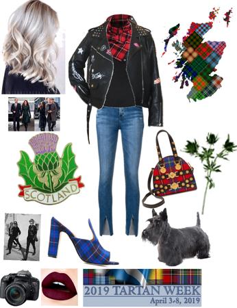 Scottish tartan walk 👣xox