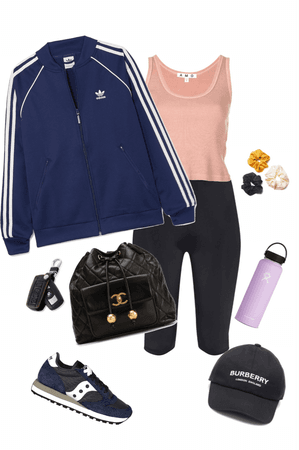 casual gym/chill outfit