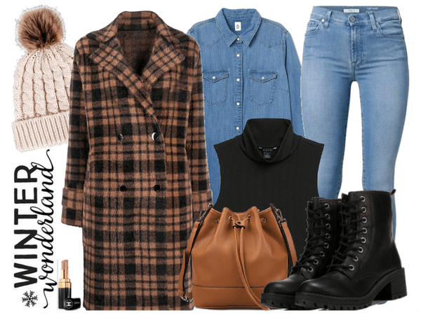 Winter Layers w/ Combat Boots