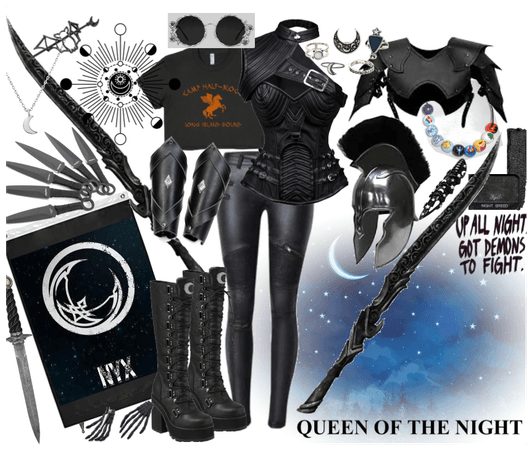 daughter of nyx capture the flag outfit