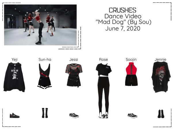 """Crushes (호감) Dance Video""""Mad Dog"""" By @Official_Sou"""
