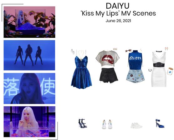 DAIYU//'Kiss My Lips' MV Scenes