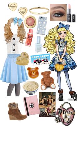 blondie locks; daughter of goldilocks