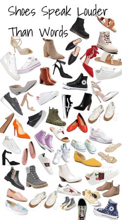 Shoes Speak Louder Than Words