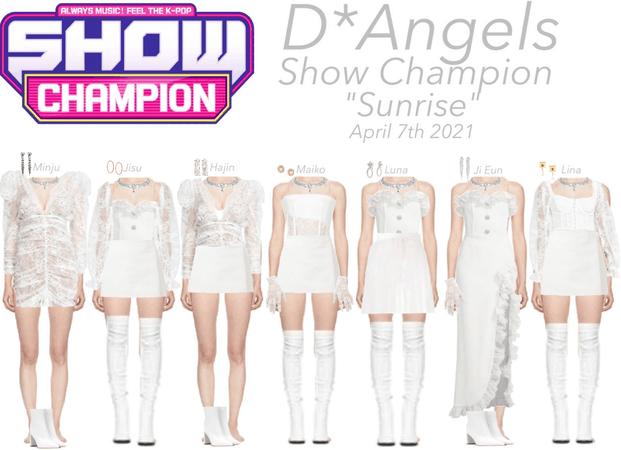 D*Angels Sunrise Show Champion