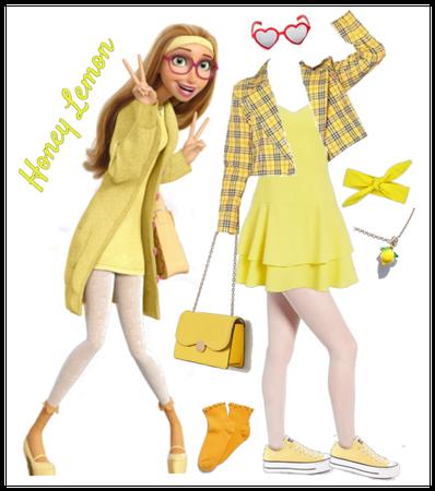 Honey Lemon outfit - Disneybounding