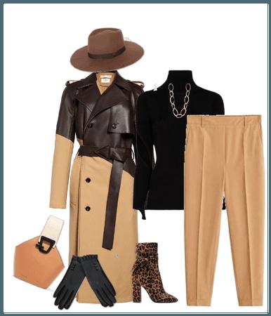 trench coat / bottega veneta
