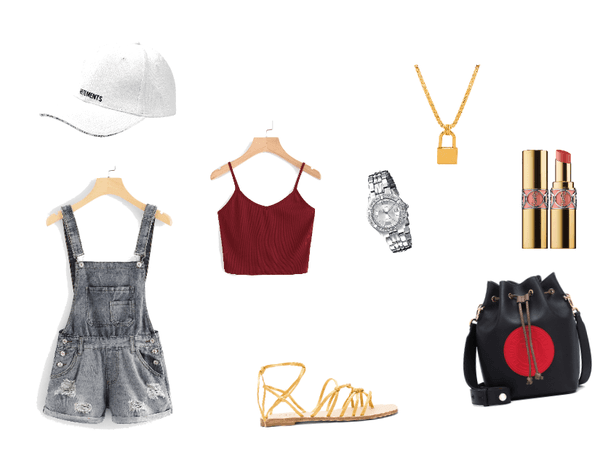 Edgy Summer Outfit