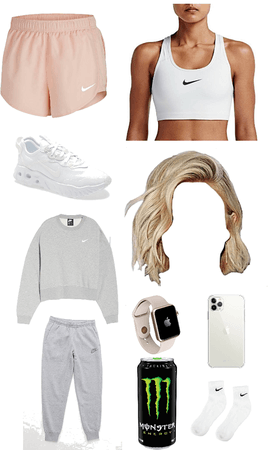 cute teen work out outfit or casual outfit!🤍🤍